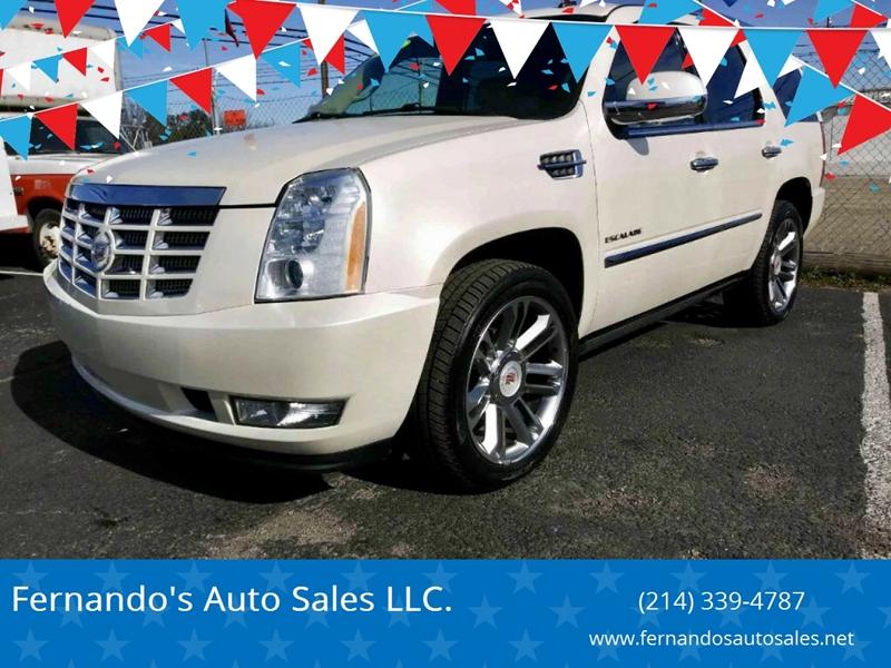2010 Cadillac Escalade Premium In Dallas Tx Fernando S Auto Sales