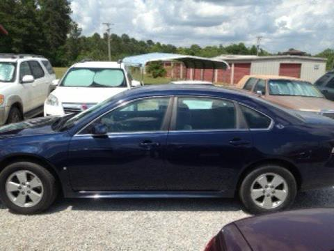 2009 Chevrolet Impala for sale in Tylertown MS