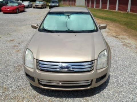 2008 Ford Fusion for sale in Tylertown, MS