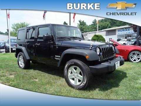 2014 Jeep Wrangler Unlimited for sale in Northampton, MA