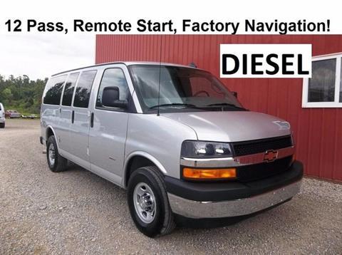 2017 Chevrolet Express Passenger for sale in Millersburg, OH