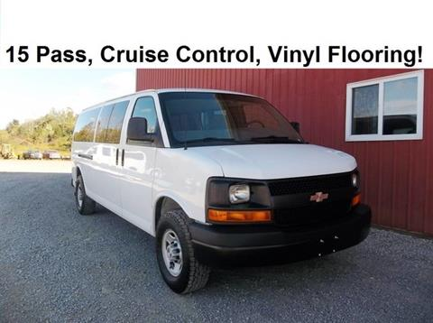 2009 Chevrolet Express Passenger for sale in Millersburg, OH