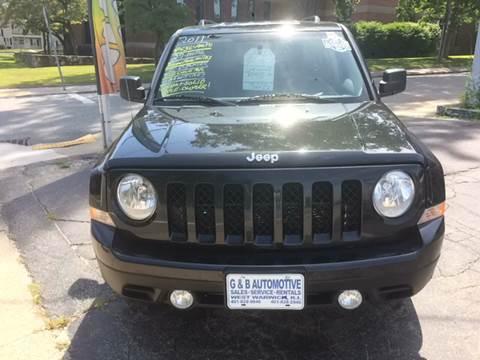 2011 Jeep Patriot for sale in West Warwick, RI