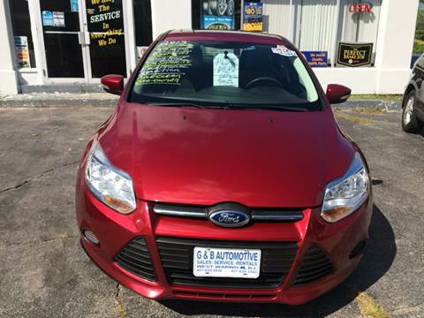 2013 Ford Focus for sale in West Warwick, RI