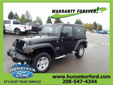 2013 Jeep Wrangler for sale in Soda Springs, ID