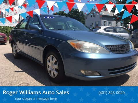 2002 Toyota Camry for sale in West Warwick, RI