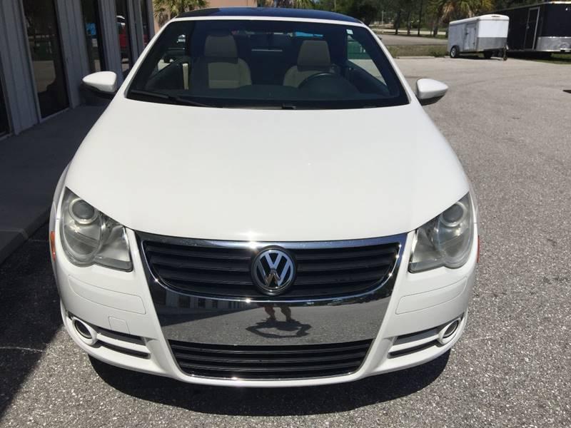 2009 Volkswagen Eos Komfort 2dr Convertible 6A - Fort Myers FL
