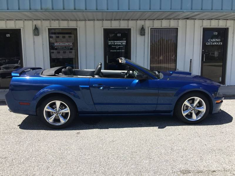 2007 Ford Mustang GT Premium 2dr Convertible - Fort Myers FL