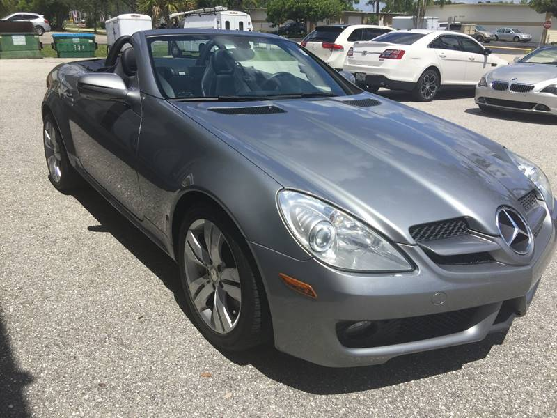 2009 Mercedes-Benz SLK SLK 350 2dr Convertible - Fort Myers FL