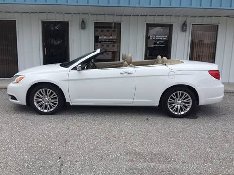 2013 Chrysler 200 Convertible for sale in Fort Myers, FL