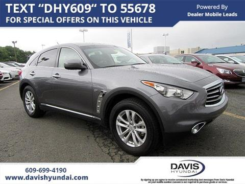 2016 Infiniti QX70 for sale in Ewing, NJ