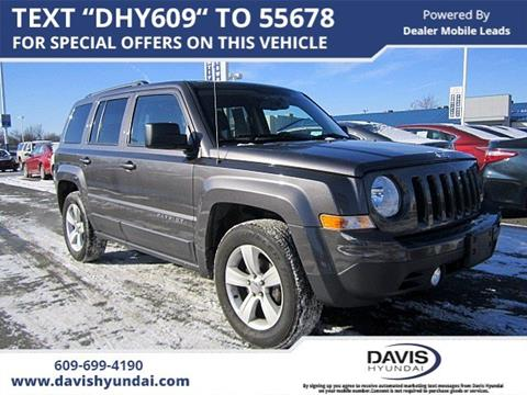 used 2015 jeep patriot for sale in new jersey. Black Bedroom Furniture Sets. Home Design Ideas