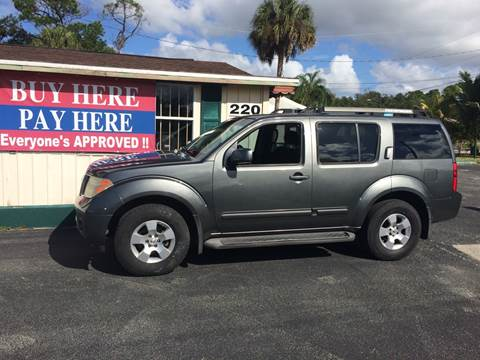 Buy Here Pay Here Deland Fl >> 2007 Nissan Pathfinder For Sale In North Ft Myers Fl