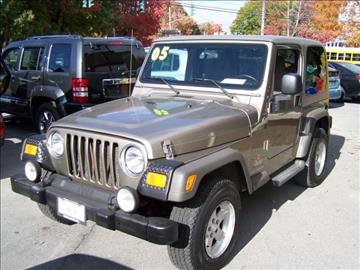 2005 Jeep Wrangler for sale in Warwick, NY