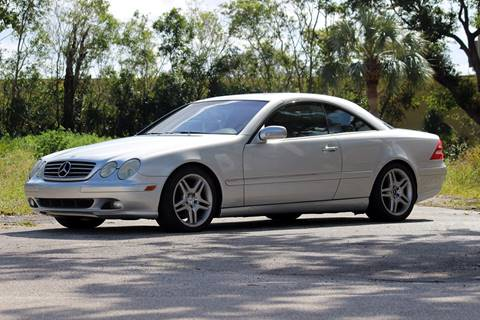 2002 Mercedes-Benz CL-Class for sale in West Palm Beach, FL