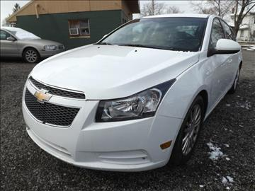 2012 Chevrolet Cruze for sale in Alliance, OH