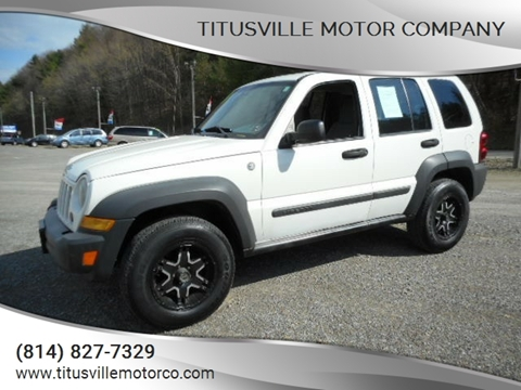 2007 Jeep Liberty for sale in Titusville, PA