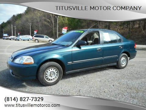 1996 Honda Civic for sale in Titusville, PA