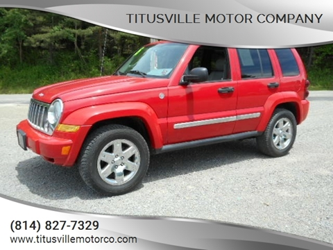 2005 Jeep Liberty for sale in Titusville, PA