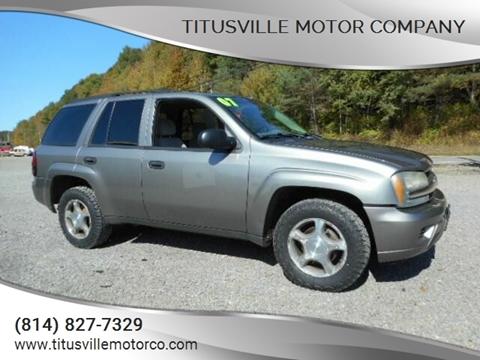 2007 Chevrolet TrailBlazer for sale in Titusville, PA