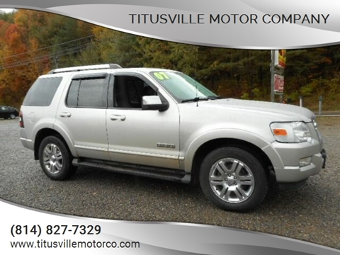 2007 Ford Explorer for sale in Titusville, PA