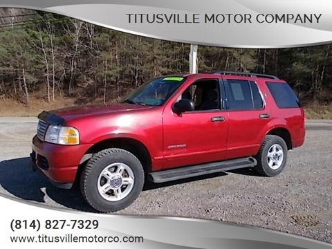 2004 Ford Explorer for sale in Titusville, PA
