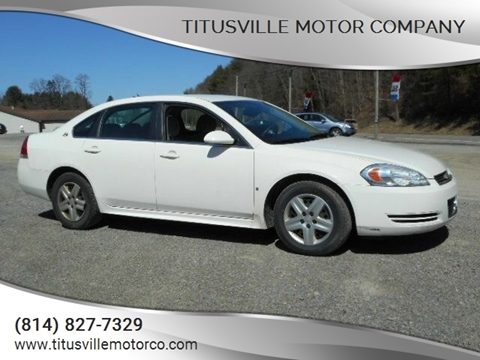 2009 Chevrolet Impala for sale in Titusville, PA