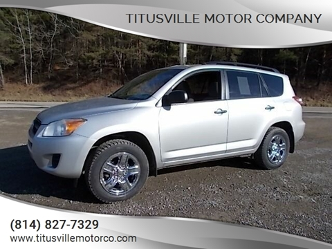 2010 Toyota RAV4 for sale at Titusville Motor Company in Titusville PA