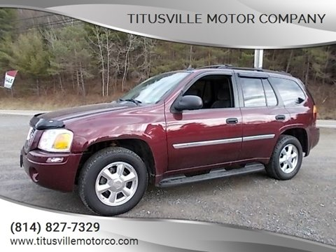 2007 GMC Envoy for sale at Titusville Motor Company in Titusville PA