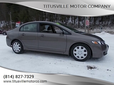 2009 Honda Civic for sale at Titusville Motor Company in Titusville PA