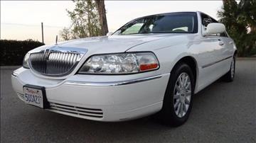 2006 Lincoln Town Car for sale in Orange, CA