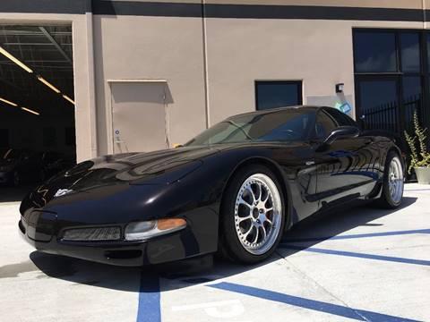 2003 Chevrolet Corvette for sale at New Age Auto in Anaheim CA