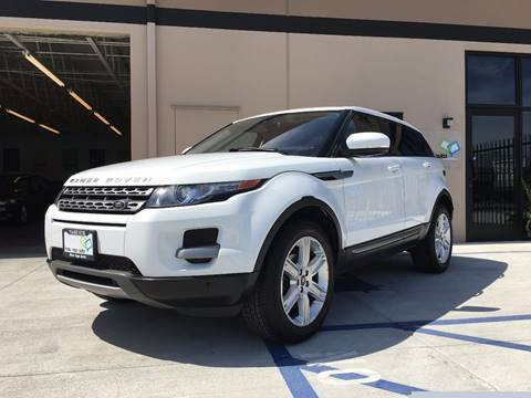 2013 Land Rover Range Rover Evoque for sale at New Age Auto in Anaheim CA
