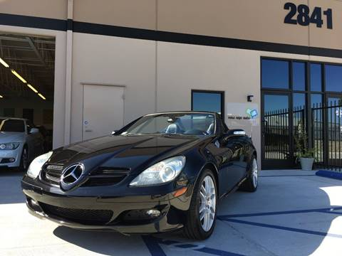 2008 Mercedes-Benz SLK for sale at New Age Auto in Anaheim CA