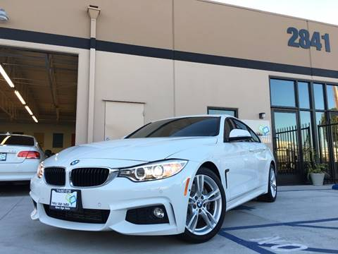 2016 BMW 4 Series for sale at New Age Auto in Anaheim CA
