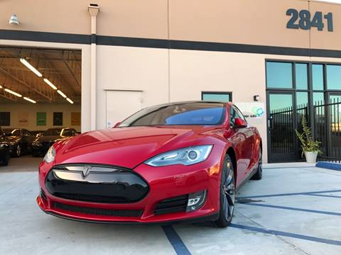 2014 Tesla Model S for sale in Anaheim, CA