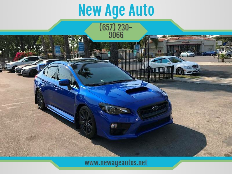 2015 Subaru Wrx In Fullerton Ca New Age Auto