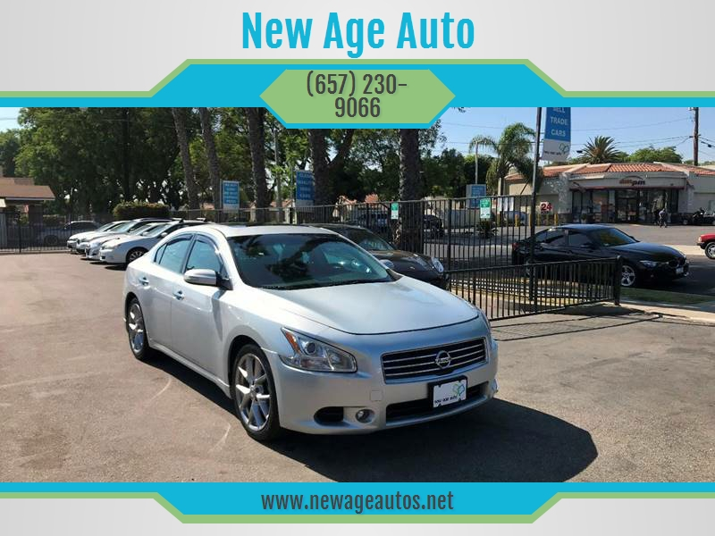 2010 Nissan Maxima For Sale At New Age Auto In Fullerton CA