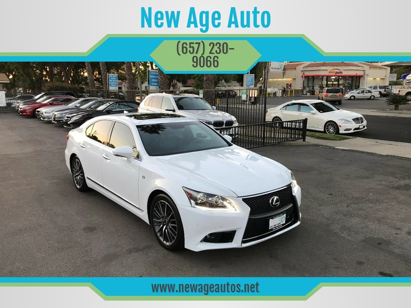 2014 Lexus LS 460 For Sale At New Age Auto In Fullerton CA