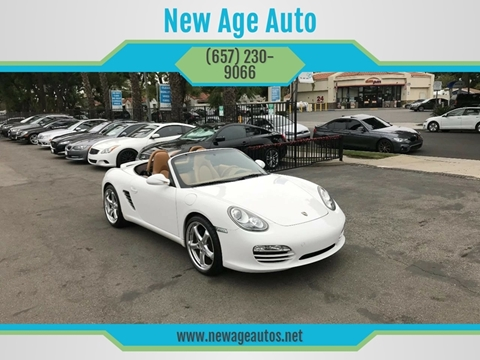 2010 Porsche Boxster for sale in Fullerton, CA