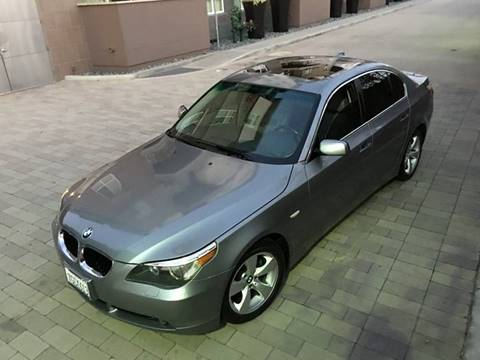 2006 BMW 5 Series for sale at New Age Auto in Anaheim CA