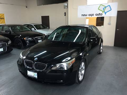2005 BMW 5 Series for sale at New Age Auto in Anaheim CA