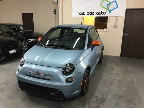 2015 FIAT 500e for sale at New Age Auto in Anaheim CA