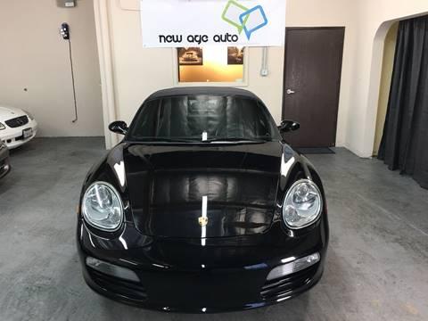 2007 Porsche Boxster for sale at New Age Auto in Anaheim CA
