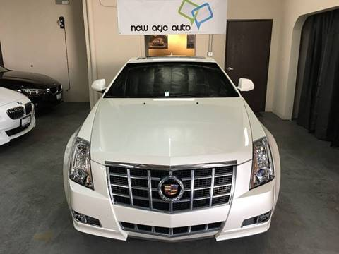 2014 Cadillac CTS for sale at New Age Auto in Anaheim CA