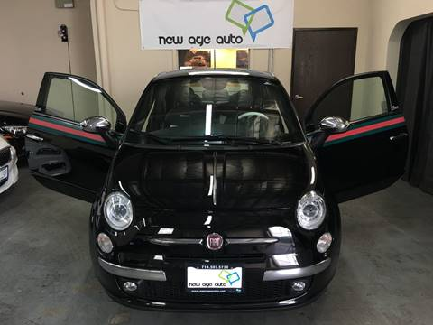 2013 FIAT 500 for sale at New Age Auto in Anaheim CA