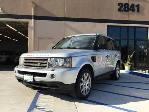 2008 Land Rover Range Rover Sport for sale at New Age Auto in Anaheim CA