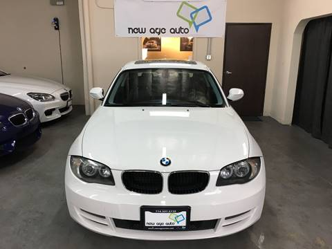 2011 BMW 1 Series for sale at New Age Auto in Anaheim CA