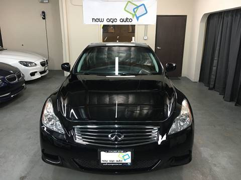 2008 Infiniti G37 for sale at New Age Auto in Anaheim CA
