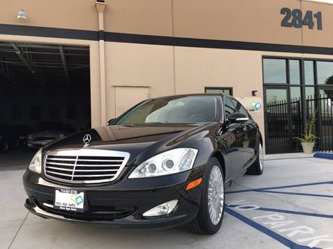 2007 Mercedes-Benz S-Class for sale at New Age Auto in Anaheim CA